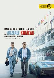 Affiche de film Ford-V-Ferrari