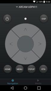 Arcam-Control-applicatie-voor-Android