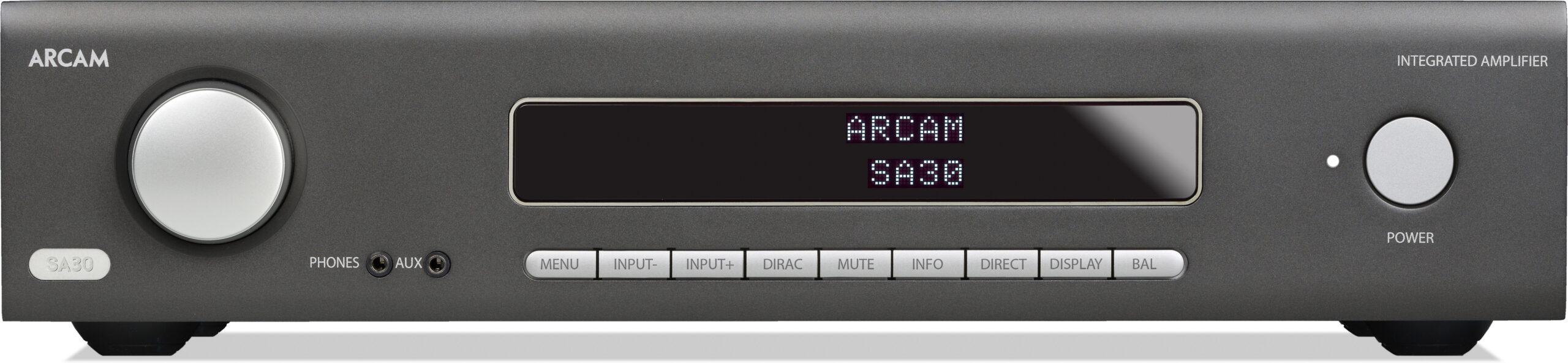 Arcam SA30 versterker voorpaneel