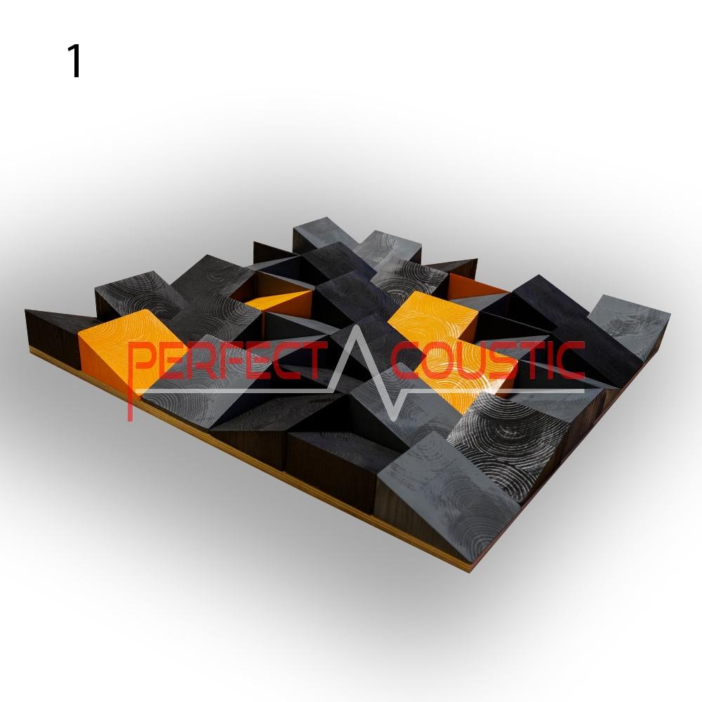 Art akoestische diffusers 60x60x6cm