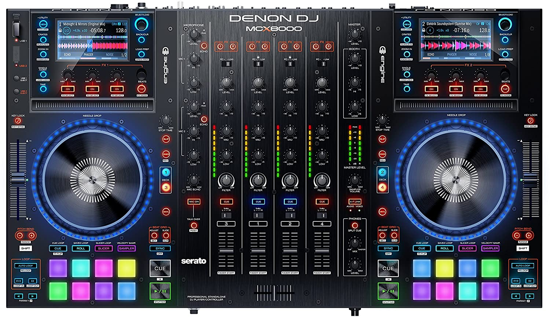 Besturing Denon-Dj-McX-8000
