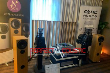 Core Audio hifi-show, akoestische absorberpresentatie-perfect acoustic