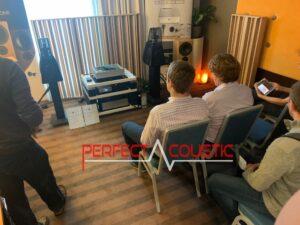 Core Audio hifi show, presentatie van akoestische panelen (2)