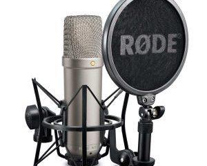 Microfoon de Rode NT1A studio