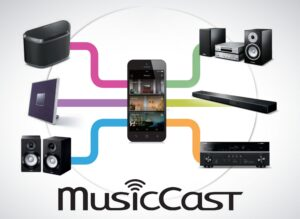 MusicCast-applicatie
