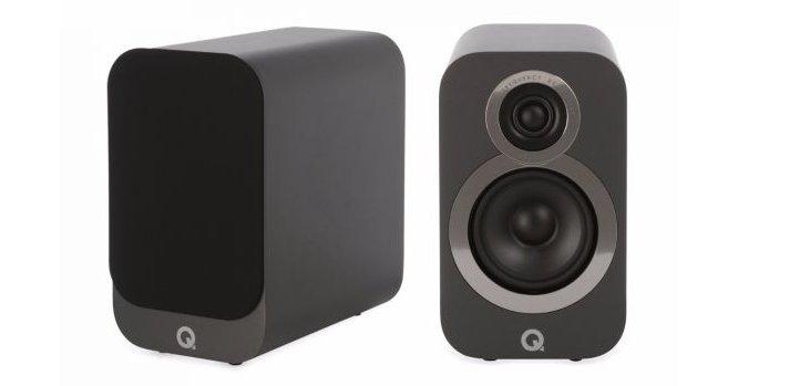 Paar Q-Acoustics 3020i luidsprekers