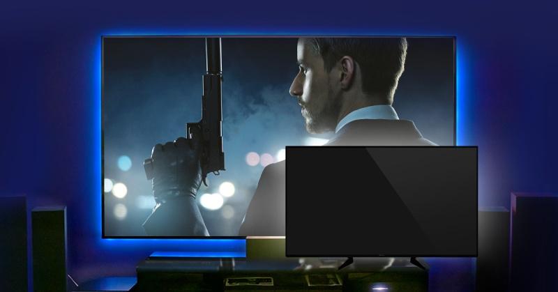 Projector versus tv
