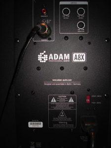 Recensione dell'altoparlante Adam A8X