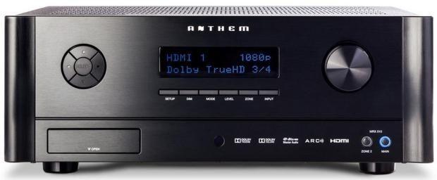 Versterker-tuner AV Anthem MRX710