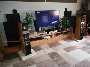 akoestisch huisontwerp met diffusor voorpaneel akoestische panelen (2)