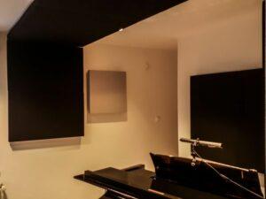 akoestisch paneel geplaatst in pianokamer (3)