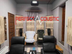 Akoestische geluidspanelen-akoestische behandeling door Perfect Acoustic