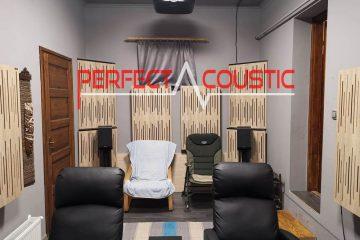 akoestische behandeling door Perfect Acoustic
