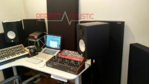 behandeling na studio akoestische meting