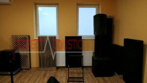 diffusor voorpaneel akoestische panelen in de buurt van de muur