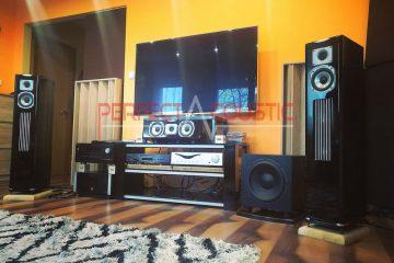 -Kolom akoestische diffusersgebruik van akoestische diffusers achter de luidsprekers (4)