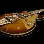 gitarist bedrukte akoestische panelen