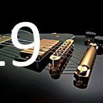 gitarist met foto-akoestische elementen