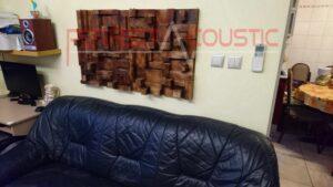 home theater akoestisch ontwerp met rustieke akoestische diffuser (2)