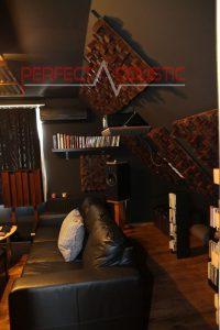 home theater kamer akoestiek ontwerp met akoestische absorbers (2)
