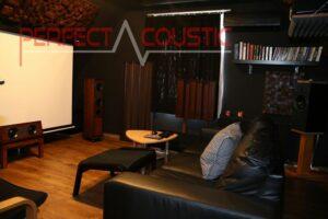 home theater kamer akoestiek ontwerp met akoestische absorbers (3)