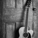 muzikale foto akoestische elementen