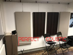 printed acoustic panel on the wall (2)