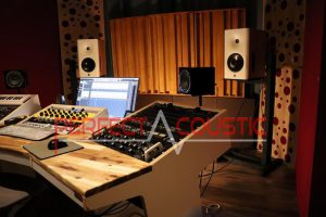 studio-akoestiek, akoestische meting