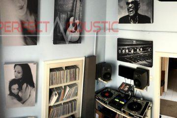 studio-akoestiek met Perfect Acoustic