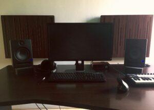 studio akoestisch paneel