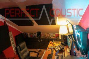 zolderstudio akoestische behandeling