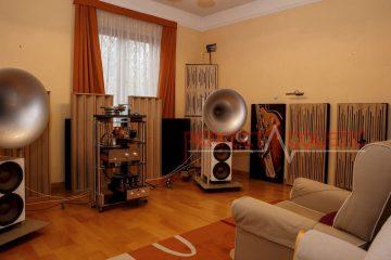 Bass traps-Akoestische absorber in Barabas villa